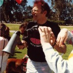 Terry Edeli at SFS Walkathon, 1980s