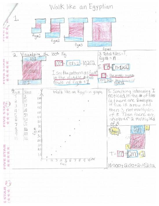 Curriculum Snapshot: Sixth Grade Math/Science · San