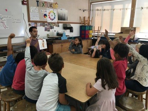 First Grade learns about ants