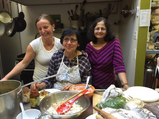 On November 11, parents and grandparents help us celebrate Diwali by cooking a tasty lunch.